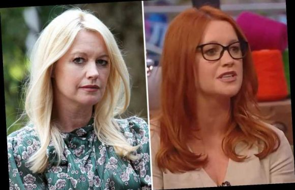 Hollyoaks Alex Fletcher looks totally different after dying her hair red for Diane's shock Christmas love triangle