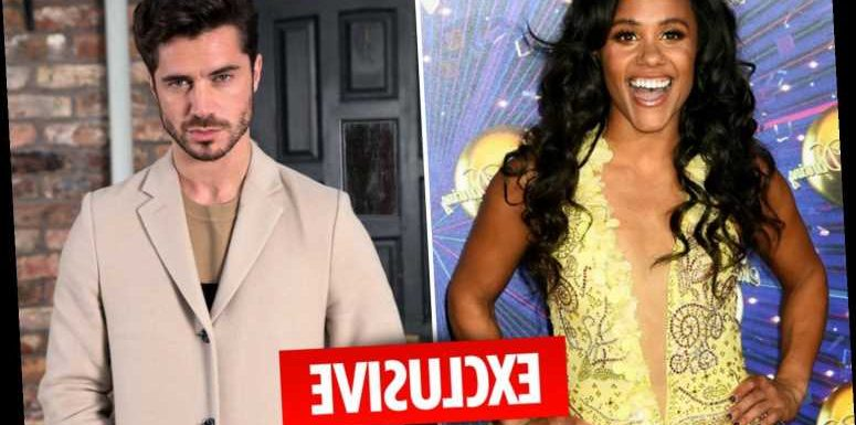 Alex Scott is dating Coronation Street hunk Sam Robertson