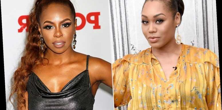 RHOP: Monique Samuels Appears to Put Her Hands Around Candiace Dillard's Neck in Physical Fight