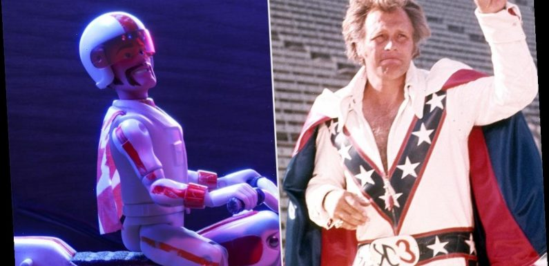 Evel Knievel's Son Sues Disney for Allegedly Using Icon's Likeness for Toy Story 4's Duke Caboom