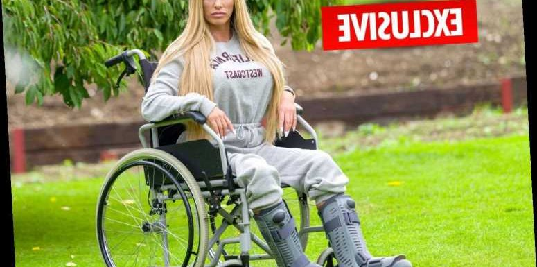 Katie Price feared she'd die or lose both legs in horror fall – as traumatised star reveals she's back at The Priory