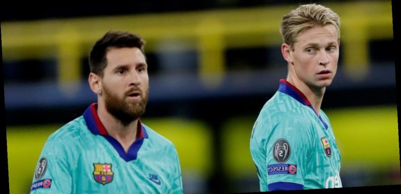 FC Barcelona is in 'chaos' over Lionel Messi's ongoing transfer saga, one of the club's most expensive young stars said
