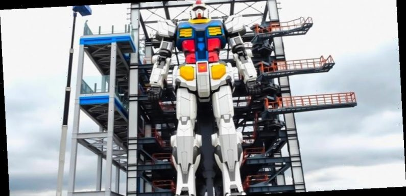 The Life-Sized Gundam Has An Official Opening Date