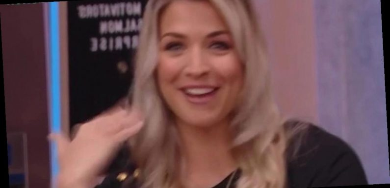 Gemma Atkinson 'teary eyed' during live TV chat as Gorka sends emotional message