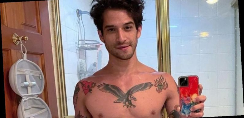 Teen Wolf's Tyler Posey flaunts bulge and admits he's 'hooked up with men'