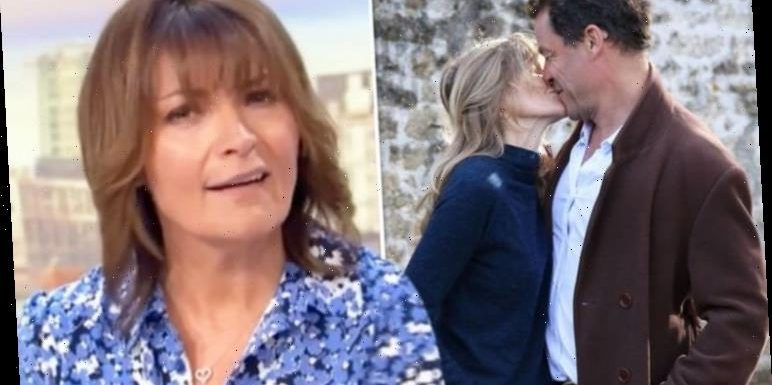 Lorraine Kelly pokes fun at Dominic West and wife's united front after Lily James pics