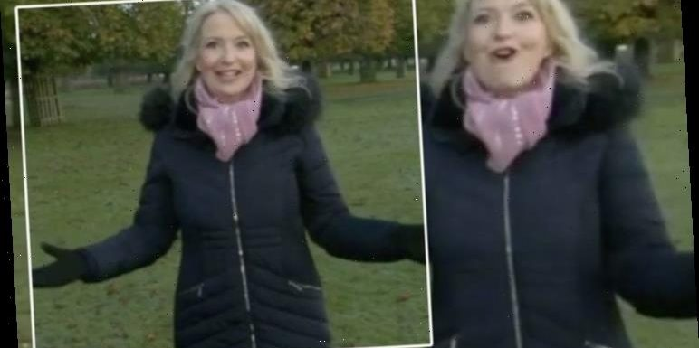Carol Kirkwood left disappointed as BBC Breakfast 'guests' leave report: 'Live telly!'