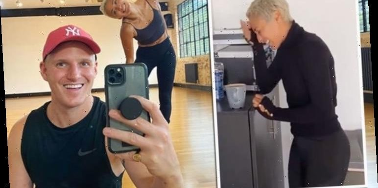 Jamie Laing questions 'What did I do wrong' after leaving Strictly partner unimpressed