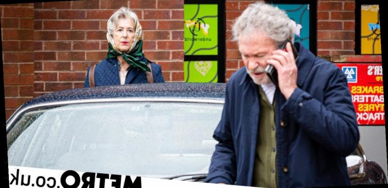 What is Arthur hiding from Evelyn in Coronation Street?