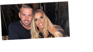 Katie Price calls Carl Woods her 'hubby' after the pair are spotted looking at rings