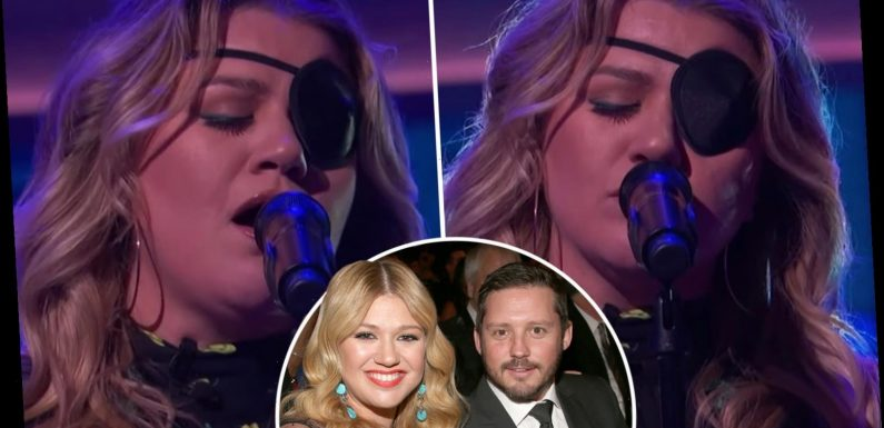 Kelly Clarkson sings emotional cover of I Can't Make You Love Me during 'difficult' divorce from Brandon Blackstock