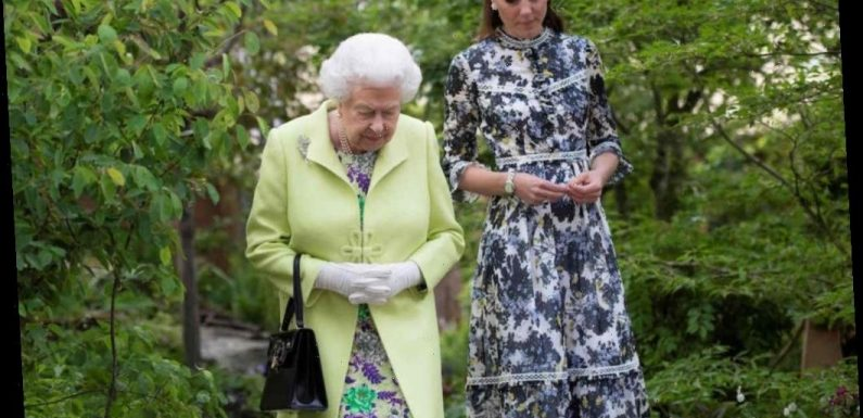 Queen Elizabeth and Other Royals Must Follow Intense Rules While Walking Down the Stairs