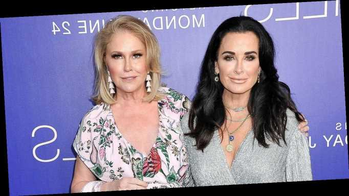 Kyle Richards Reacts to Rumors That Sister Kathy Hilton Is Joining 'RHOBH'