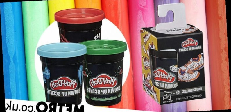 Play-Doh now comes in 'grown-up' scents including 'overpriced latte' and grass