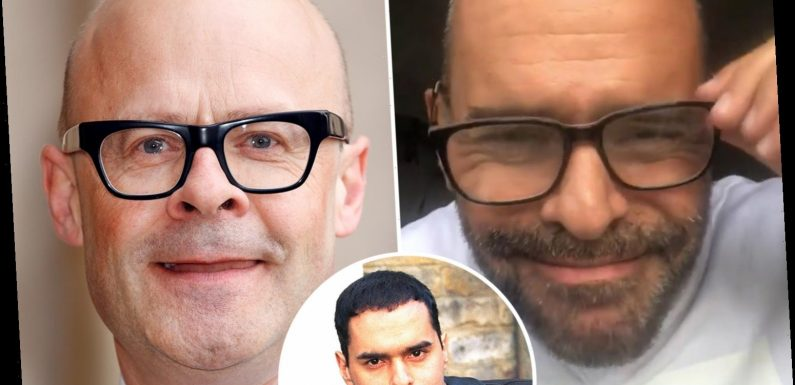 EastEnders legend Michael Greco says he now looks like Harry Hill after going bald and getting glasses