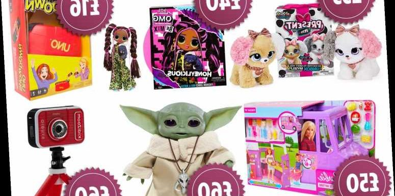 Amazon reveals its top 12 toys for Christmas including a Star Wars baby Yoda and Present Pets