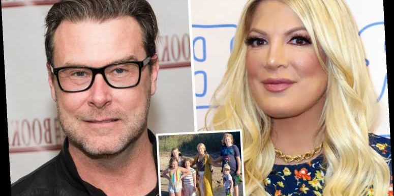 Tori Spelling fears husband Dean McDermott will cheat again as he films new TV show in Canada for six months