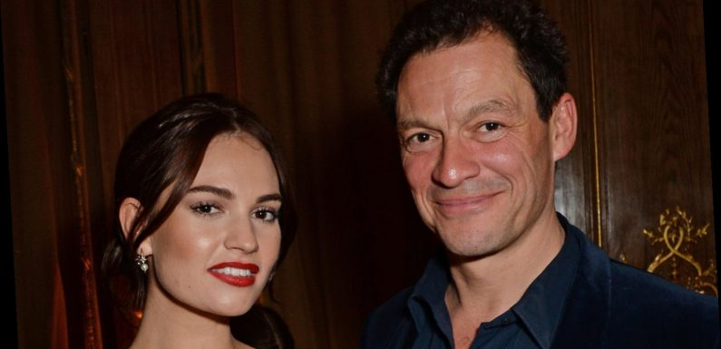 Lily James & Dominic West Might Actually Be Fined for Their PDA-Filled Outing in Rome