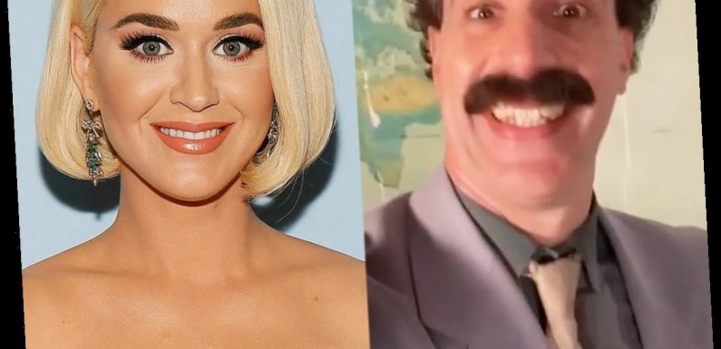 Borat Sends Katy Perry a NSFW Birthday Tribute You Just Have to Watch