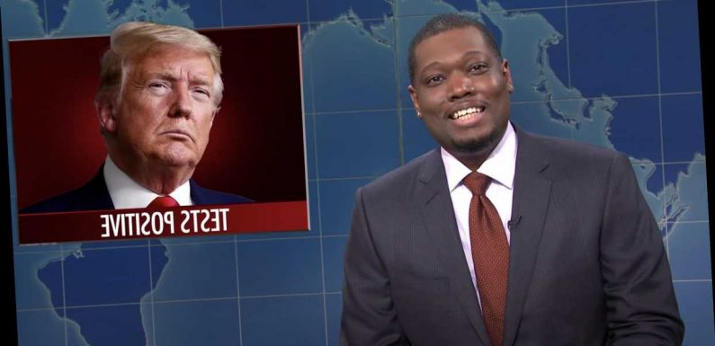 'SNL': Watch 'Weekend Update' Tackle Trump's Covid-19 Diagnosis
