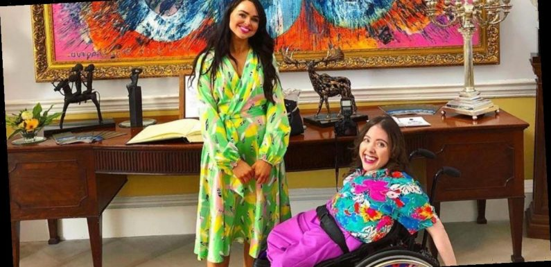 Sisters start company to create designer wheelchair covers