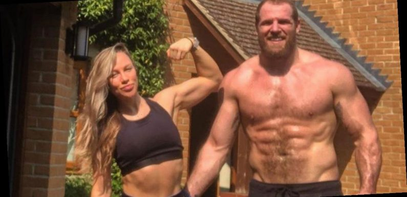 Chloe Madeley made hubby James Haskell wear rugby scrum cap during sex