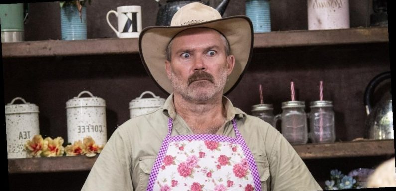 Where has I'm A Celeb's Kiosk Keith gone and who has he been replaced by?