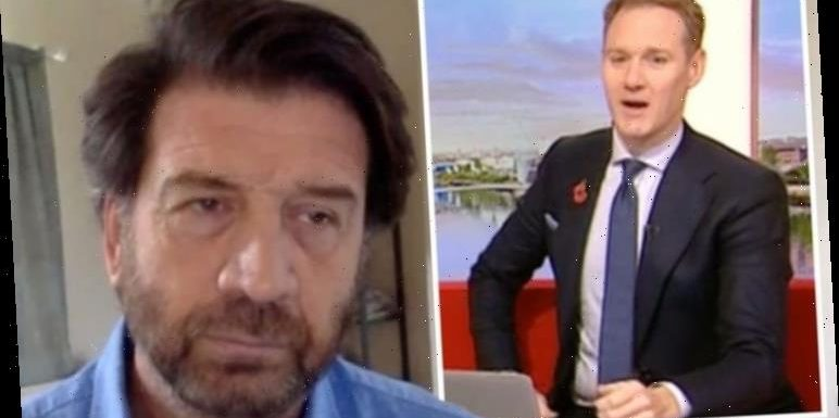 Dan Walker shuts down Nick Knowles after bringing up BBC host's book 'Not allowed!'