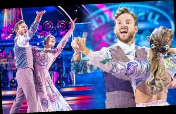 JJ Chalmers body language 'apologetic' as there's 'still no chemistry' with Strictly's Amy