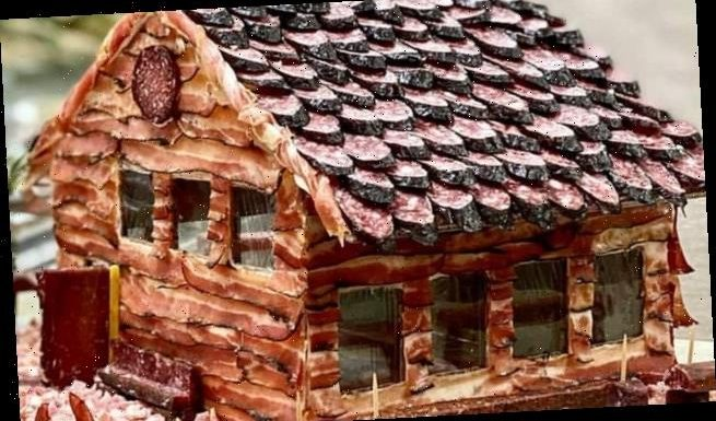 Home cooks are making charcuterie CHALETS for Christmas