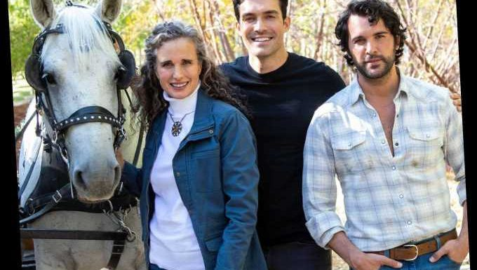 'Dashing In December' Trailer Features Andie MacDowell And Gay Cowboys In Love