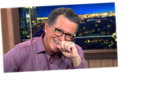 Stephen Colbert Enjoys His Fleetwood Mac Burn Of Donald Trump