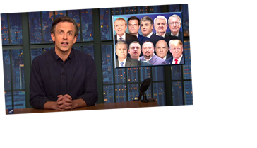 Seth Meyers Singles Out Members Of Trump's 'Cuckoo Coup Crew'