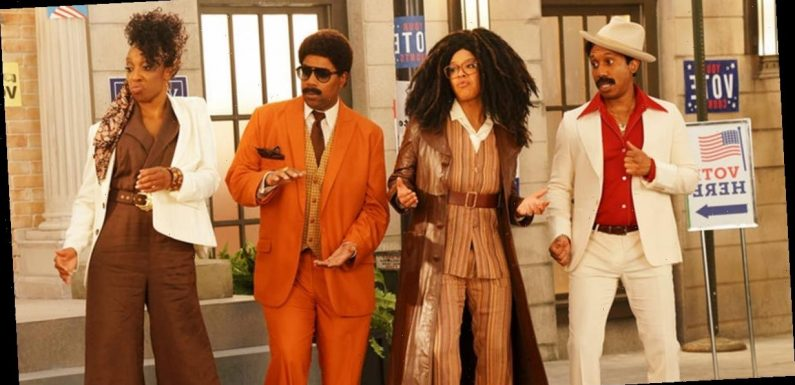 """Nothing Is Stopping These Funky-Fresh Voters From Hitting the Polls in SNL's """"Strollin'"""" Skit"""