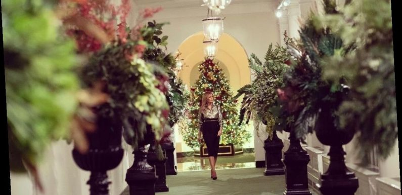 Melania Trump reveals the WH Christmas decorations, which are nice this year?