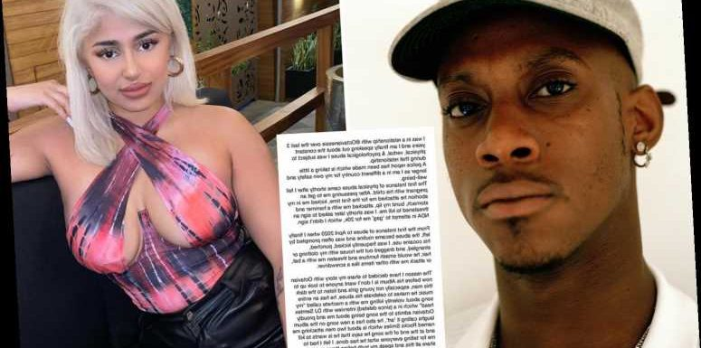 Rapper Octavian accused of domestic abuse by ex – but star insists she's trying to 'ruin my life'