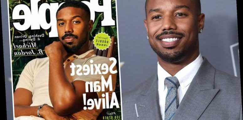 Michael B Jordan is named 2020's Sexiest Man Alive and dedicates his win to the 'women in his family' – The Sun