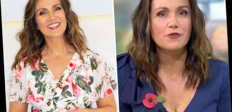 Susanna Reid reveals she's piled on a stone this year as she fears gaining more lockdown weight