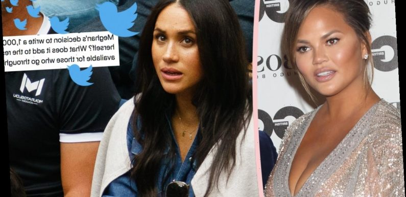 Chrissy Teigen SAVAGES Troll Who Criticized Meghan Markle's Miscarriage Op-Ed!