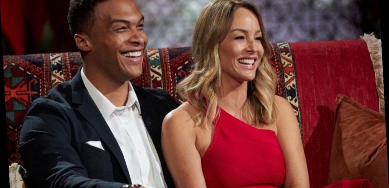 Was Dale Moss and Clare Crawley doing something naughty in front of the cameras on The Bachelorette?