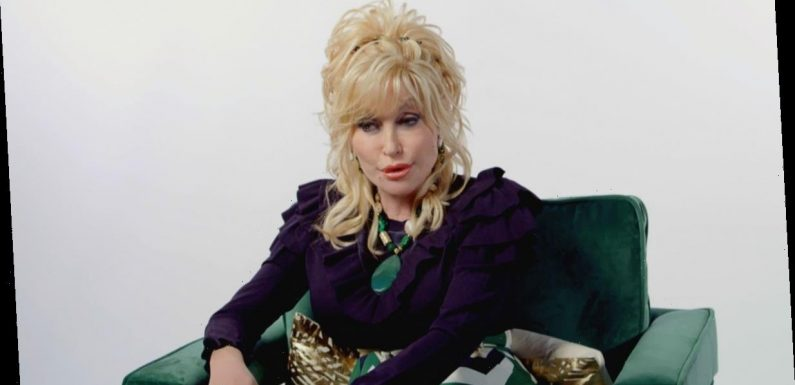 Dolly Parton Says She Based Her Look On 'The Town Tramp'