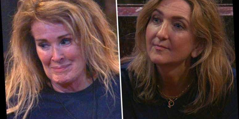 I'm A Celeb fans in hysterics as Victoria Derbyshire admires Beverley Callard's 'magnificent boobs'