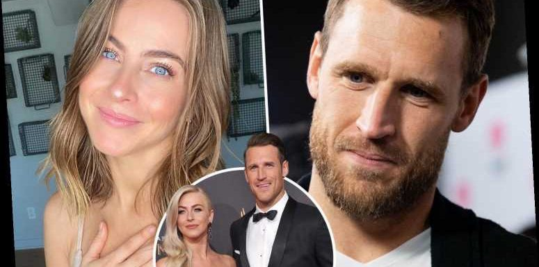 Julianne Hough says 2021 is 'definitely looking up' as she 'celebrates love' after filing for divorce from Brooks Laich