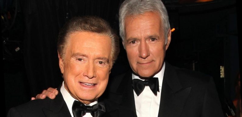 The truth about Alex Trebek's relationship with Regis Philbin