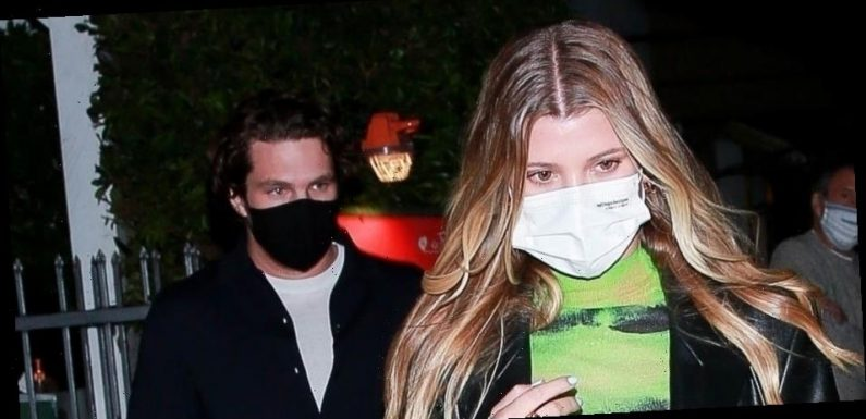 Sofia Richie Grabs Dinner with New Boyfriend Matthew Morton in Santa Monica