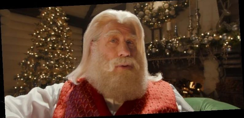 John Travolta Appears as Santa Claus in Capital One's Christmas Commerical – Watch!