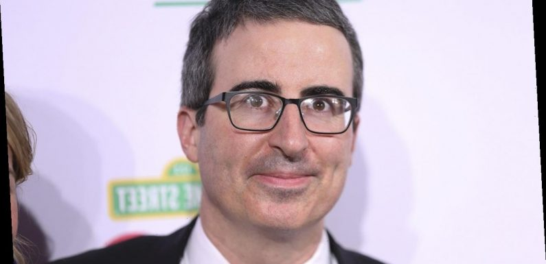 John Oliver Teared Up Voting for the First Time as an American Citizen