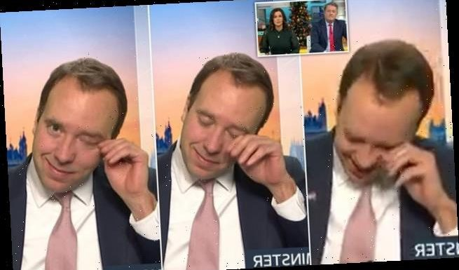 HENRY DEEDES watches the Health Secretary weep on live TV