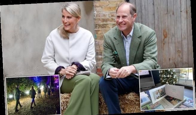 Prince Edward and Sophie Wessex share heartwarming Christmas card