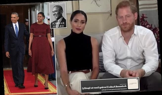 Meghan Markle and Prince Harry are 'emulating Obamas' business model'